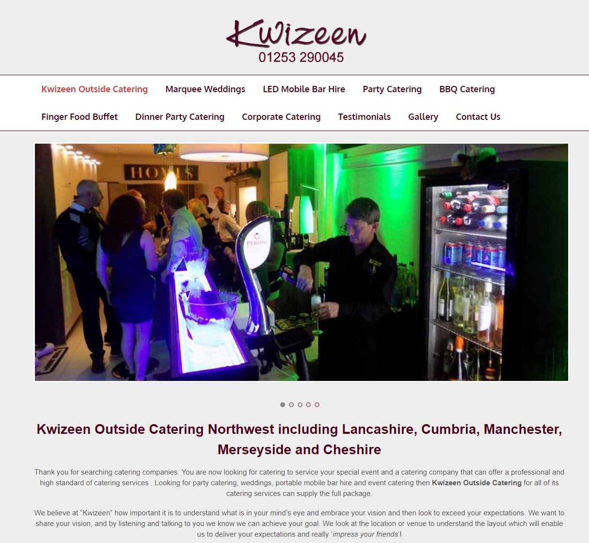 Kwizeen Outside Catering Lancashire and Cumbria