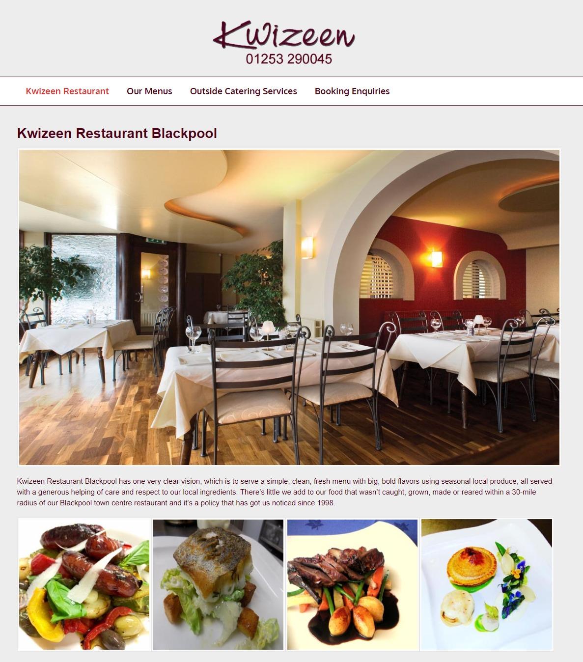 Kwizeen Restaurant Blackpool