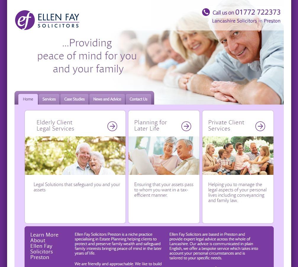 Websites for solicitors